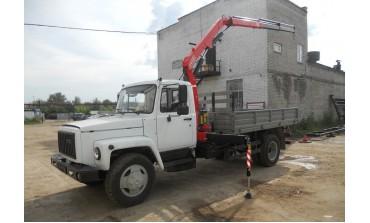 ГАЗ 3309 с КМУ FASSI 65A.22