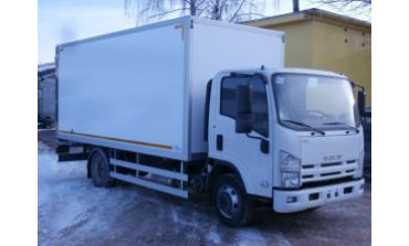 Изотермический фургон Isuzu 4HK1