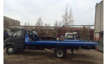 """Эвакуатор на базе ГАЗ-33106 """"Валдай"""" со сдвижной платформой L платформы 5700 мм"""