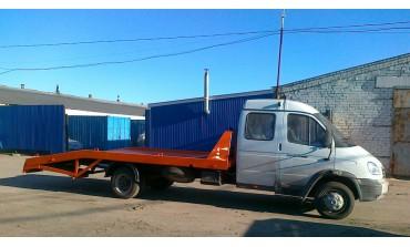 Эвакуатор на базе ГАЗ-331063 Валдай Фермер L платформы 5600 мм